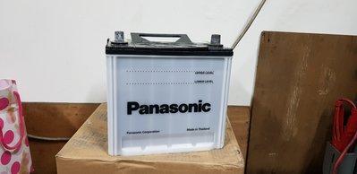 (二手中古電池) Panasonoc 75D23L-MF 免保養汽車電池 數值漂亮,品項優