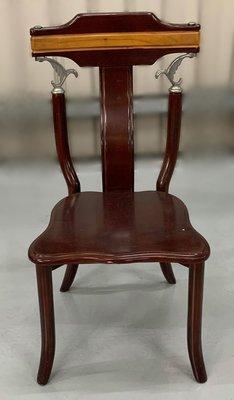 台中二手家具 大里宏品二手家具館 F112617*實木餐椅* 二手各式桌椅 中古辦公家具買賣 會議桌椅 辦公桌椅