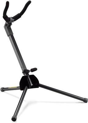 『放輕鬆樂器』全館免運費 海克力斯 HERCULES DS431B 輕便型 中音薩克斯風架 (附袋)