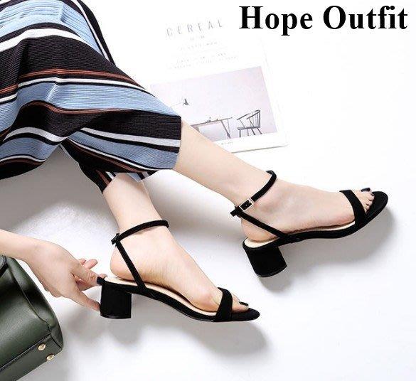韓國真皮 一字扣跟鞋 三色 真皮高跟鞋 一字扣高跟鞋