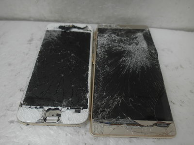 快樂99-蘋果  i6 (A1586)/ 華為 P9+ 兩支零件機 [面板破.其他請自行檢測問題]-99元起標Y297