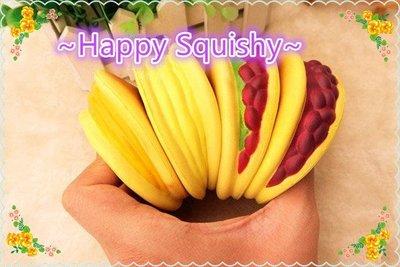 ~Happy Squishy~ 正版 日本銅鑼燒 Squishy/軟軟/減壓玩具(珍藏版套組一組4個)現貨還免運費