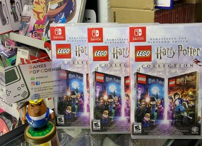 (全新現貨) NS game 樂高哈利波特合輯收藏版LEGO Harry Potter Collection (1-7集) (英文版)
