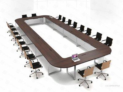 【OA批發工廠】OTTO 系統會議桌 口字腳桌 環式會議桌 大型會議桌 簡約現代設計 客製品需先詢價