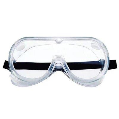 透明護目鏡S50B-四氣孔防起霧款 全罩式安全防護鏡 安全眼鏡 防風沙 防塵【GG302B】 EZ生活館