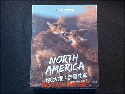 [藍光BD] - 北美大地:無限生命 North America 三碟珍藏版 ( 台灣正版 )