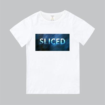 T365 MIT 親子裝 T恤 童裝 情侶裝 T-shirt 標語 話題 口號 美式風格 slogan SLICED