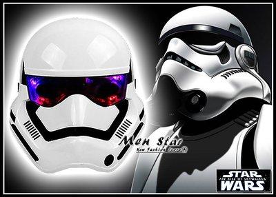 [免運費] STAR WAYS 天行者的崛起 LED 冷光面具 風暴兵 發亮面具 玩具 星際大戰 帝國風暴兵 電影周邊品