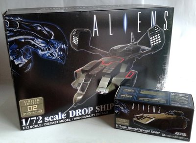 新世紀合金~ALIENS異形~1/72 DROP SHIP+Armored Personnel Carrier運輸機