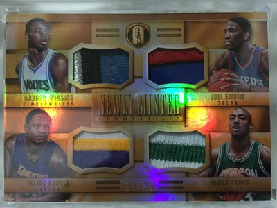 2014-15 金磚Newly Minted rc rookie- Wiggins,Embiid,Randle,Young.