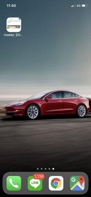 全新特斯拉Model 3紅色禮車出租!!