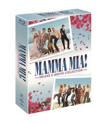 毛毛小舖--藍光BD 媽媽咪呀1+2 韓國套裝版(中文字幕) Mamma Mia!