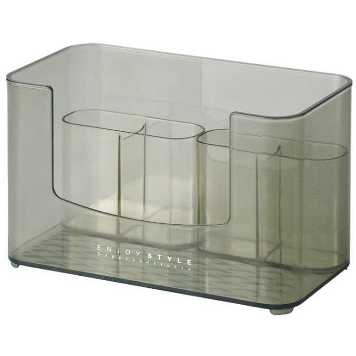 收納好物桌面收納盒化妝品鏡櫃收納盒家用梳妝台首飾盒儲物盒口紅護膚品桌面置物【BB】