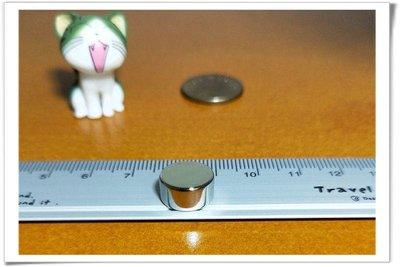 [12*5] 強力磁鐵12mm x 5mm - 很適合當做玻璃白板貼使用