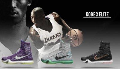 NIKE KOBE 10 ELITE Flyknit lux 十代 編織 高筒 限量籃球鞋 4KB 史上最強飛人級後衛 (已售) farewell KOBE