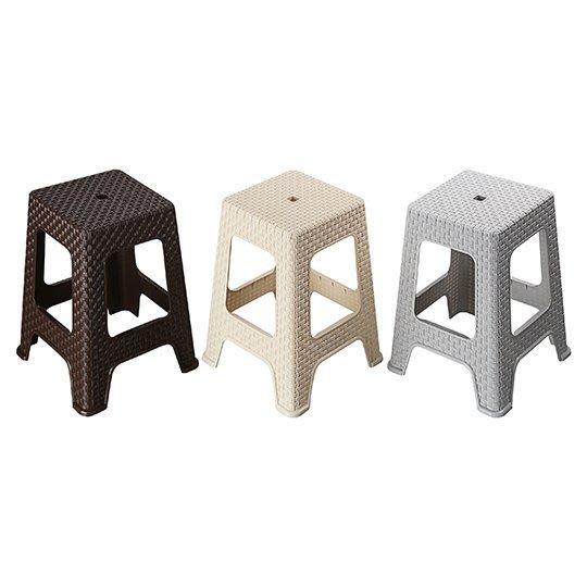 10張以上免運/雅歌藤藝椅/板凳/點心椅/塑膠椅/備用椅/高級厚料塑膠板凳/四方塑膠椅/活動用椅/藤面塑膠椅/台灣製