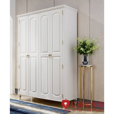 [紅蘋果傢俱] LS YG6601 輕奢臥室系列 四門衣櫃 衣櫥 現代 簡約 輕奢