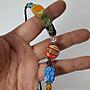 早期  手工琉璃珠項鍊