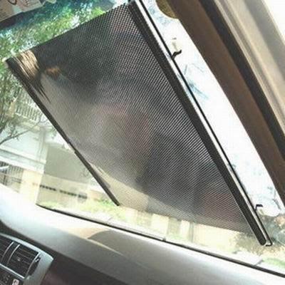 【自動調整遮陽簾-PVC-多規格可選-1款/組】前擋後檔側窗汽車玻璃遮陽板車窗防曬隔熱-527009