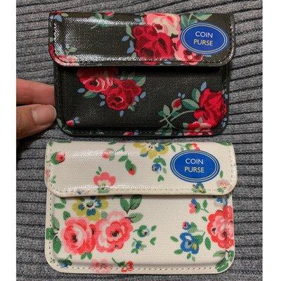 英國代購 現貨 Cath Kidston Cranbrook Latimer Rose Coin Purse Card Holder 黑白玫瑰花 卡片套錢包銀包