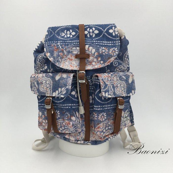 《現貨在台免運》Herschel後背包 DAWSON X-Small 雙口袋休閒旅行包雙肩背包 休閒包【寶妮子】