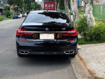 歐洲車精品 BMW G11 G12 M-tech 不鏽鋼 鋼琴烤漆黑 汰黑 4出 尾飾管 尾管 另有 尾翼 後視鏡