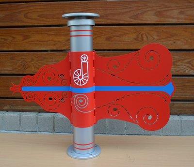 避雷針風向機 Wind Vane for Lightning Rod using--LR-96x60--73x38如意