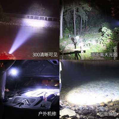 LED頭燈強光充電感應遠新款射3000米新頭戴式手電筒變焦超亮夜釣魚礦燈  手電筒XP-O20 台北市