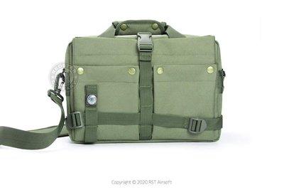 [01] Q3 多功能 特警 戰術包 綠 ( 槍盒槍箱槍包槍套槍袋提袋手拿包電腦包相機包筆電包軍規特警