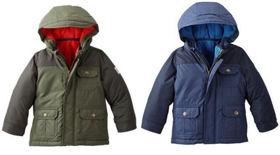 【Carter】【OSHKOSH】4-in-1 HEAVYWEIGHT JACKET,五歲~十二歲
