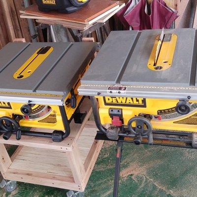 (含運)Dewalt DW745 10吋 木工 桌鋸 台鋸 圓鋸機 DWE7491RS DWE7480 得偉神佢新佢參考