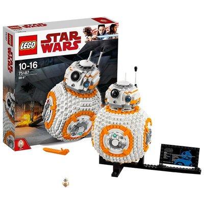 樂高75187 星球大戰系列 BB-8機器人 LEGO 益智軍事積木人仔玩具