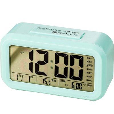 hello小店-智能電子鬧鐘學生用充電靜音床頭夜光創意個性懶人多功能兒童專用#計時器#鬧鐘#時鐘#