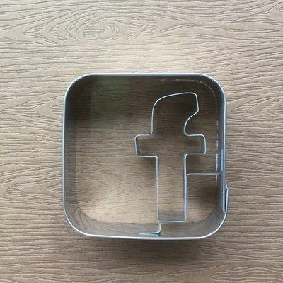 德國製 Stadter Cookie Cutter Face Book 臉書餅乾 FB餅乾 餅乾模型 新品