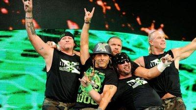 [美國瘋潮]正版 WWE DX Break It Down Retro Tee DX墮落世代經典復刻款衣服HBK HHH
