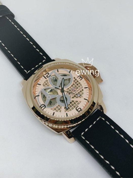 [靚錶閣](特)護弓鏤空機芯錶