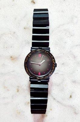 日本原裝星辰錶-黑色閃耀銀河系-璀璨登場-獨一無二閃閃動人-非戴不可