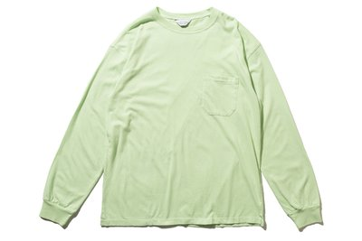 "[ LAB Taipei ] UNUSED ""US1595 L/S POCKET TEE"" (L.Green)"