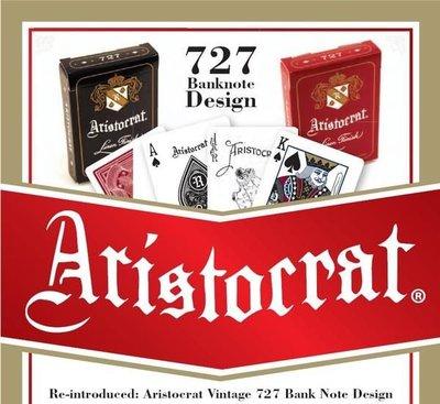 ARISTOCRAT 復古 No.727 撲克牌