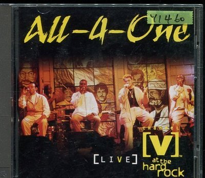 *還有唱片行* ALL 4 ONE / AT THE HARD ROCK 二手 Y1460