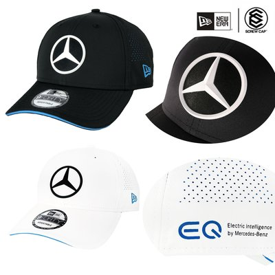 【ScrewCap】NEW ERA 9FORTY 940 賓士2色 透氣 Mercedes FORMULA E 棒球帽