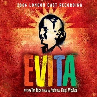 歐版全新CD~音樂劇 艾薇塔Evita (2006 London Cast)~悲慘世界Philip Quast飾演裴隆上校~可試聽