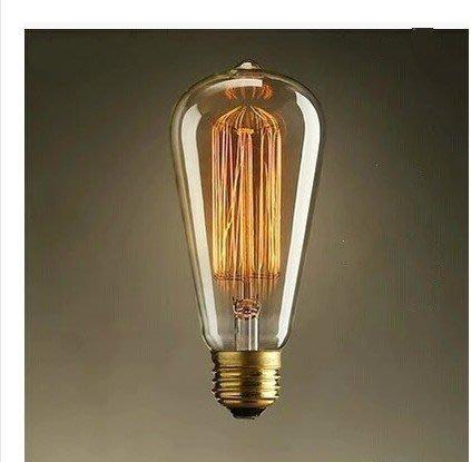 【M】愛迪生燈泡 ST64燈泡 鎢絲 LED-2W、4W、6W、8W
