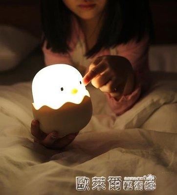 小桌燈 創意可愛床頭嬰兒寶寶喂奶兒童燈 臥室led充電節能迷你小夜燈