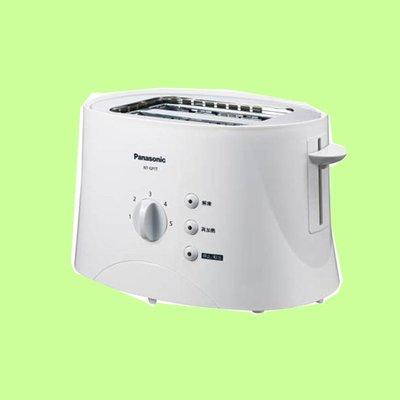5Cgo【捷元】解凍再加熱功能 Panasonic國際牌 五段調節烤麵包機 NT-GP1T  1年保 含稅