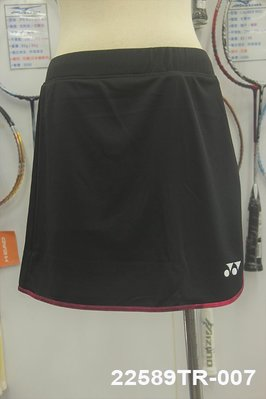 (台同運動活力館) YONEX (YY)【吸汗速乾】【台灣製】針織 排汗 運動褲裙 褲裙 22589TR-007