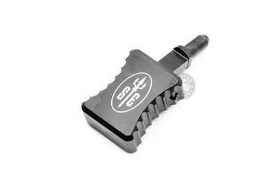 [01] SCAR MK17 加大 槍機拉柄 黑 ( BB彈卡賓槍步槍氣動槍衝鋒槍狙擊槍玩具槍AEG AR M4 M16