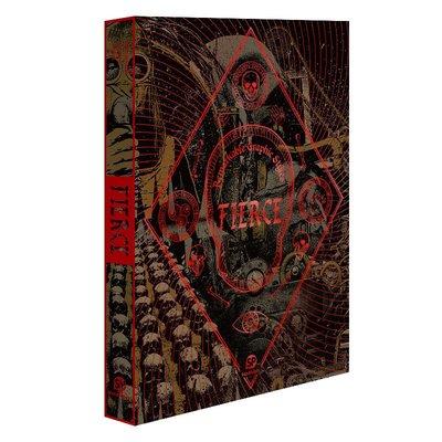 英文原版 Remarkable Graphic Styles-FIERCE 設計五感:惡 恐怖骷髏頭靈感插畫設計 平面視覺藝術插畫書