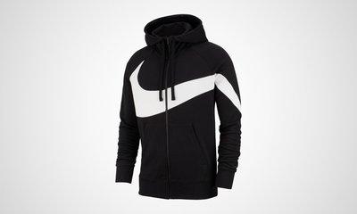 特價Nike Sportswear Hoodie 黑白  運動休閒 連帽外套 男款 大勾  AR3085-010