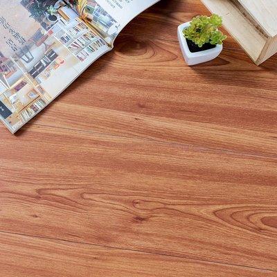 地板貼 1.5坪 121-木紋地貼 PVC地板-36片 阻燃防水耐磨地貼